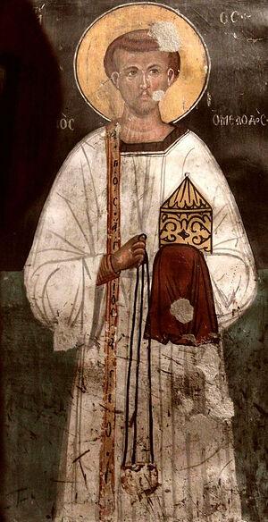 Преподобный Роман Сладкопевец