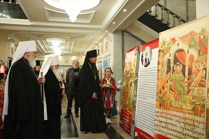 В Ташкенте прошли мероприятия, посвященные 800-летию со дня рождения благоверного князя Александра Невского