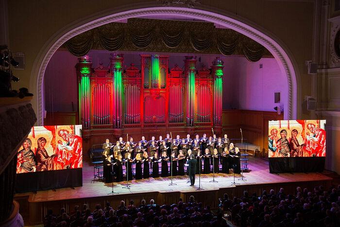 Московский Синодальный хор принимает участие в Днях русской духовной культуры в Сербии