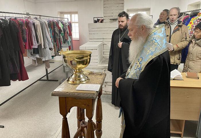 Открылись три новых церковных центра гуманитарной помощи