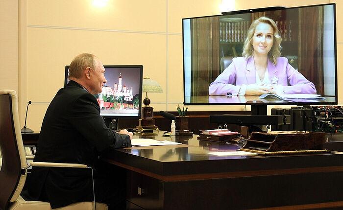 Владимир Путин назначенил сенатора Марию Львову-Белову Уполномоченным при Президенте по правам ребёнка