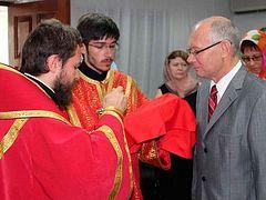 Metropolitan Hilarion celebrates Divine Liturgy at Russian Embassy in the capital of Jamaica