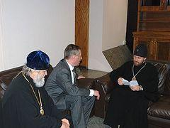 Metropolitan Hilarion of Volokolamsk begins his visit to Paraguay