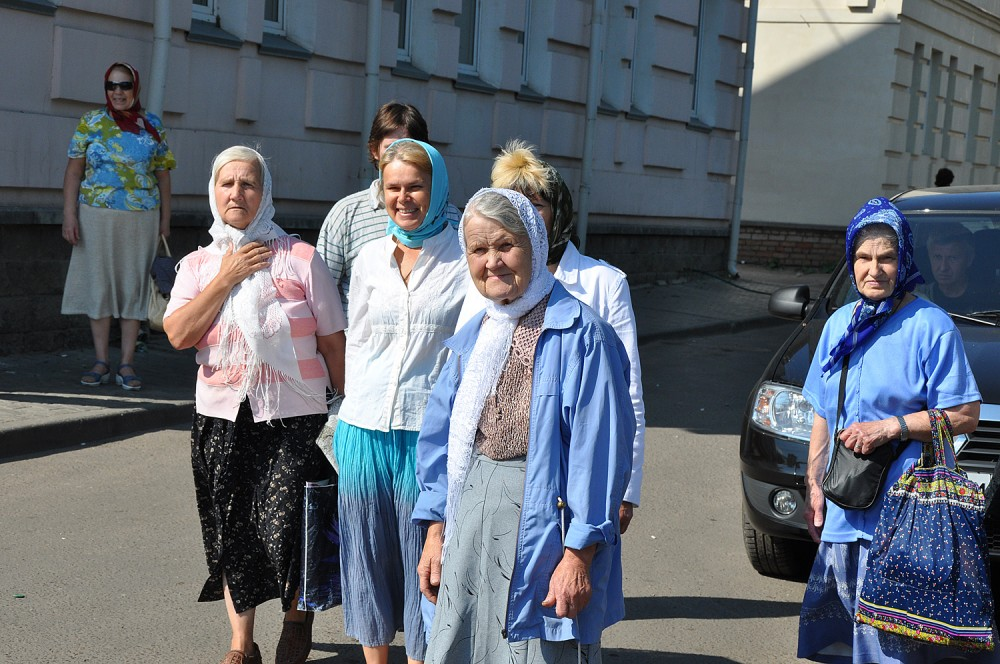 Встреча чудотворного списка в одном из храмов Ярославля