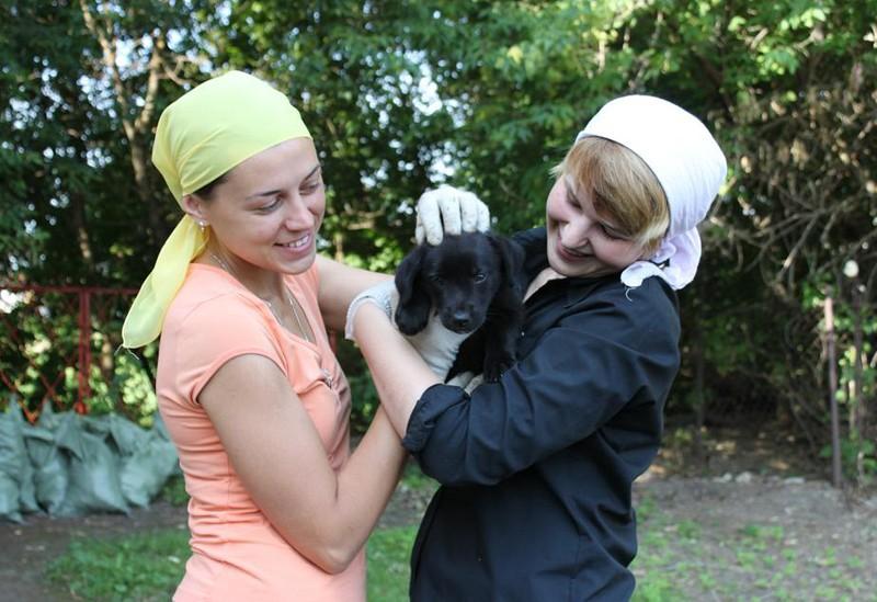 Анастасия и Анастасия с Дружком