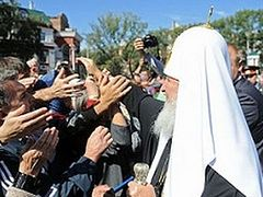 Patriarch Kirill consecrated the largest cathedral in Far East