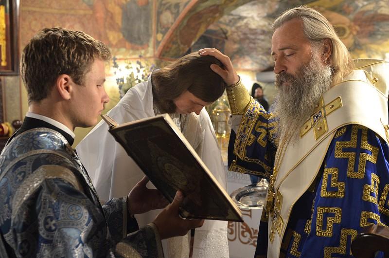 Посвящение монаха Никиты в чтецы