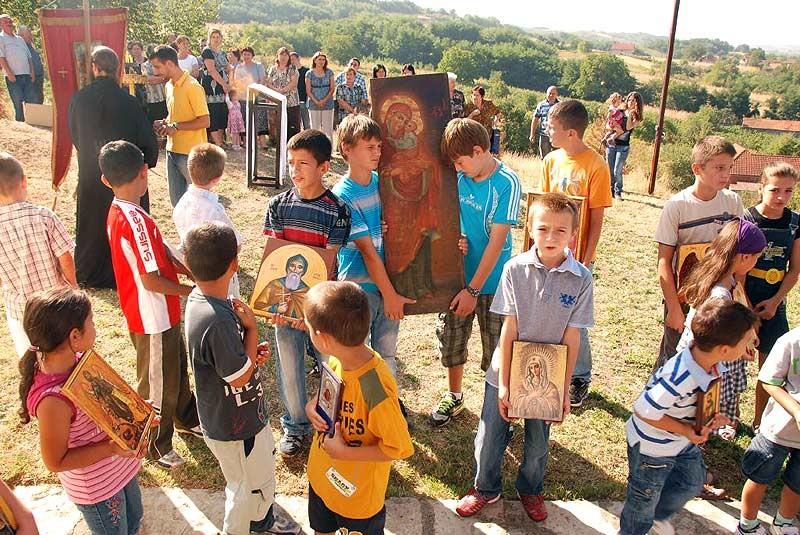 Παρευρέθηκαν ιδιαίτερα πολλά παιδιά στη γιορτή