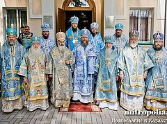 The Delegation Bringing the Kursk-Root Icon of the Mother of God to Kazakhstan Visits the Holy Sites of the Southern Capital