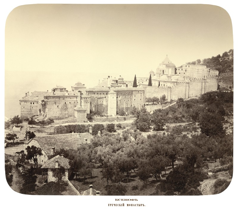 Μονή Ξενοφώντος. Ελληνικό μοναστήρι