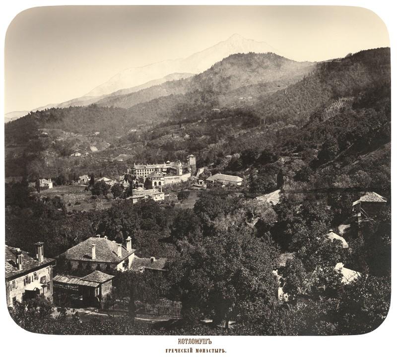 Μονή Κουτλουμουσίου. Ελληνικό μοναστήρι