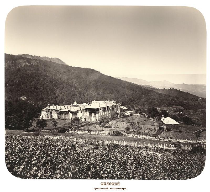 Филофей. Греческий монастырь