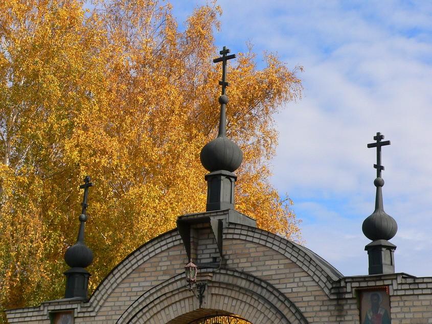 Η πύλη του μοναστηριού