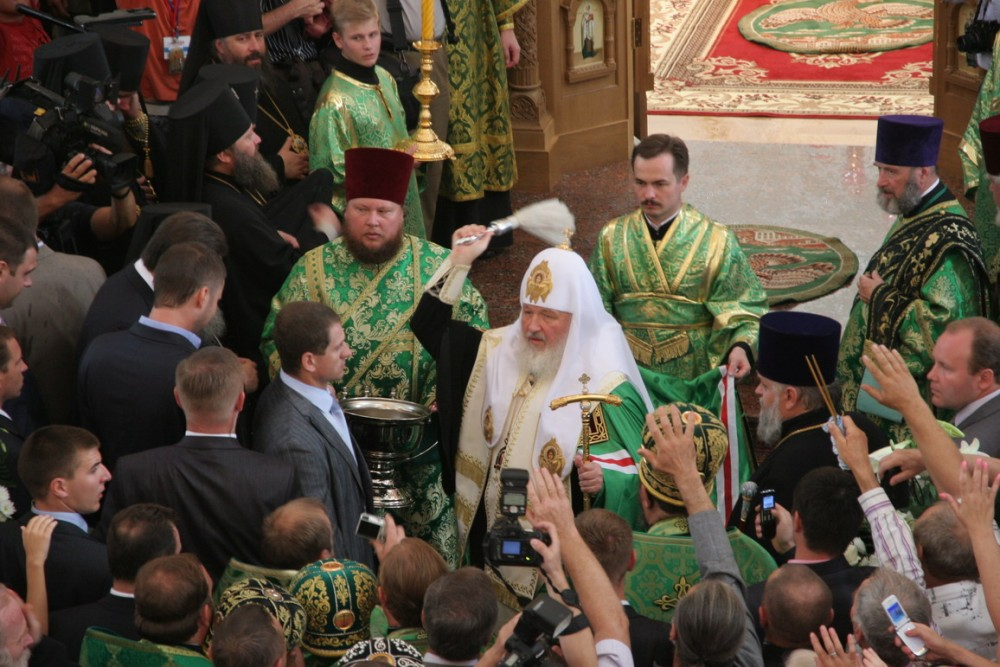 Επίσκεψη του Πατριάρχη Μόσχας και Πασών των Ρωσιών Κύριλλου
