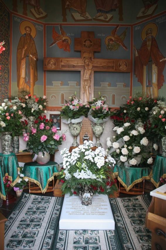 Παρεκκλήσιο με τον τάφο του σχι-αρχιμανδρίτη Ζωσιμά (Σόκουρα)