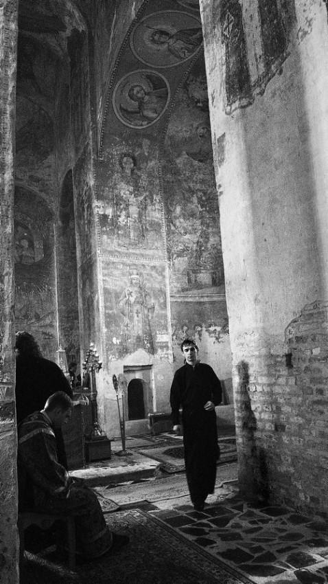Στην Ιερά Μονή Οσίου Μιχαήλ Κλόπσκ