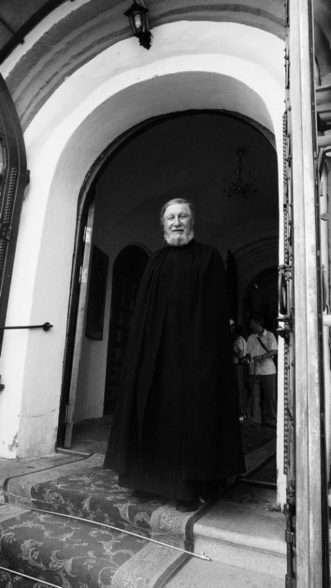 Μοναχός της Ιεράς Μονής της Παναγίας των Ιβήρων