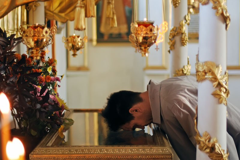 Προσκύνημα στα Ιερά λείψανα του Οσίου Σάββα του Βισέρα