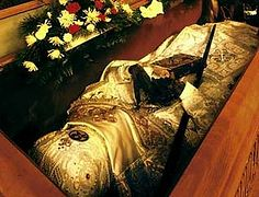 "The Rite of Revestment of the Uncorrupt Relics of St John at the Cathedral of the Mother of God ""Joy of All Who Sorrow"