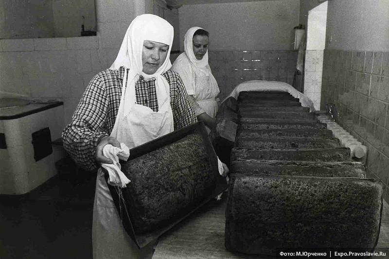 Монастырские хлебы