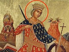 Holy Great Martyr Catherine