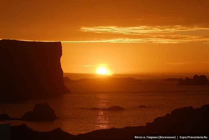 Ηλιοβασίλεμα στην Ανταρκτική