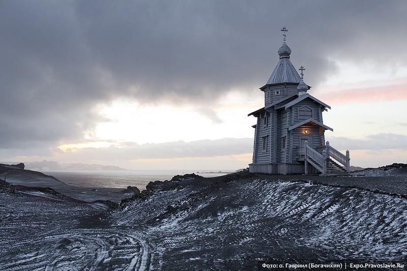 Ναός της Αγίας Τριάδος στην Ανταρκτική