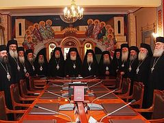 The Holy Synod of the Orthodox Church of Greece is troubled by the people's economic situation