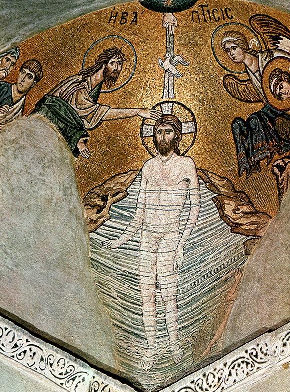 Мозаика кафоликона Дафни, конец XI века