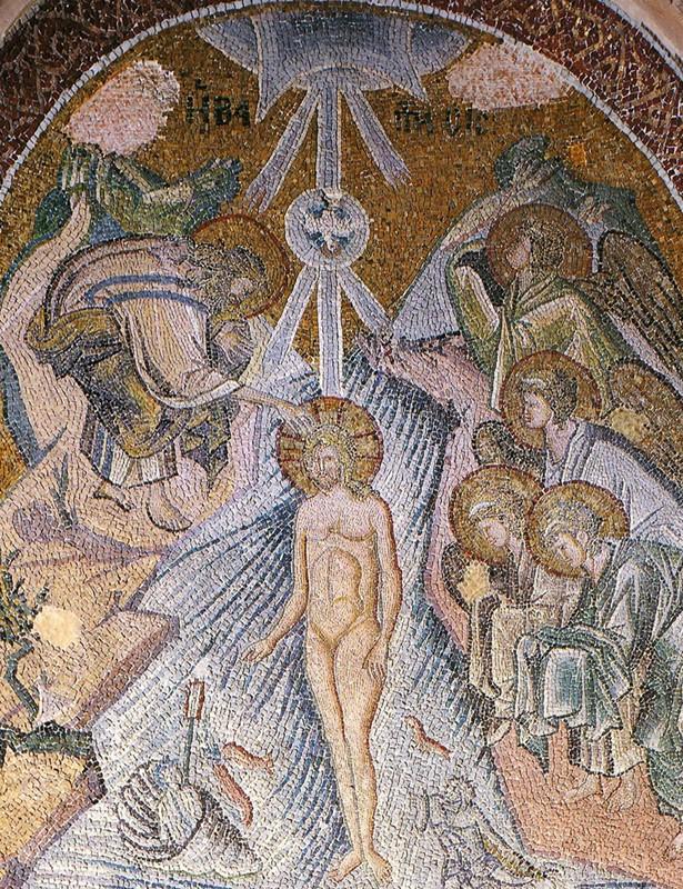 Мозаика кафоликон монастыря Хора. 1316–1321 гг., Стамбул