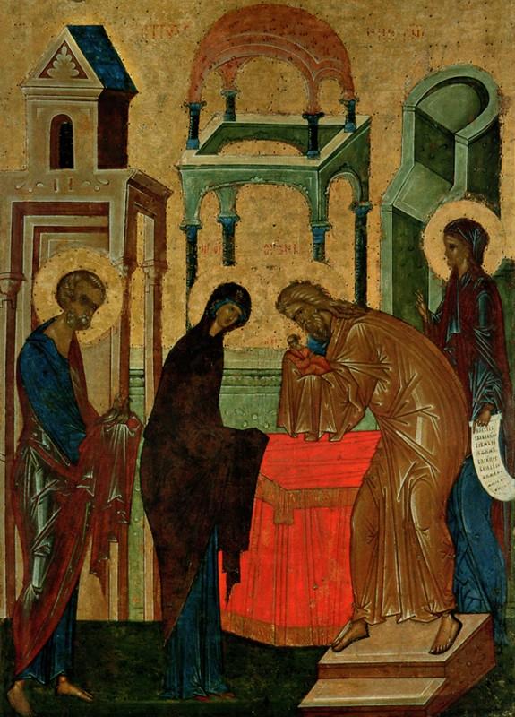 Около 1497 г., из иконостаса Успенского собора Кирилло-Белозерского монастыря, Кирилло-Белозерский музей-заповедник