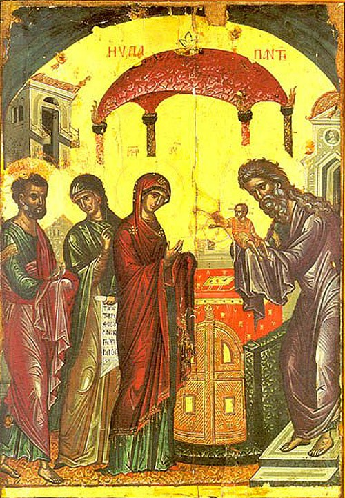 """Картинки по запросу """"Сретение Господне византийские иконы и мозаики"""""""