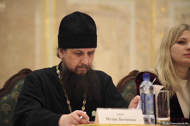 Председатель Всероссийского православного братства «Трезвение» священник Игорь Бачинин