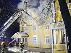 Fire at New Valamo Monastery