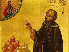 St. Benedict of Nursia, Founder of Western Monasticism