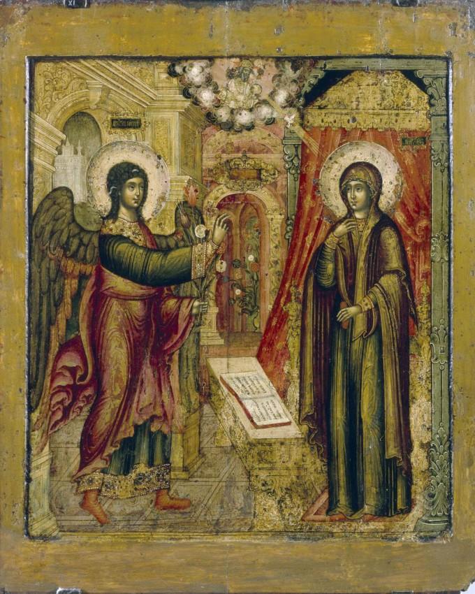 Благовещение. 1670. Автор: Иван Максимов