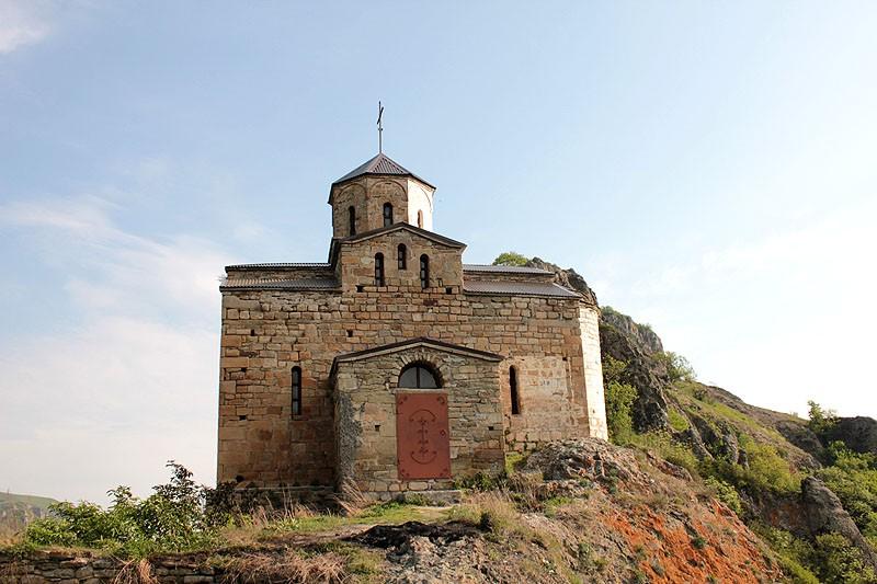 Храм Св.Георгия на горе Шоане. Карачаево-Черкессия