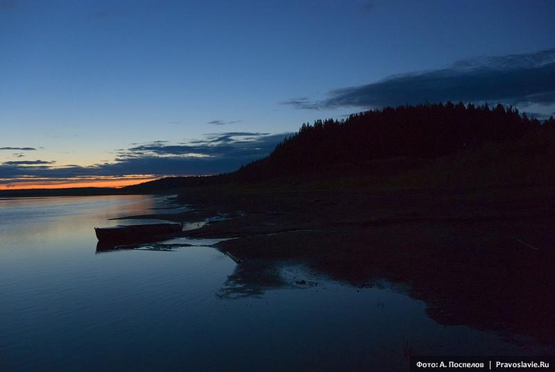 Ночь в Усть-Нерманке