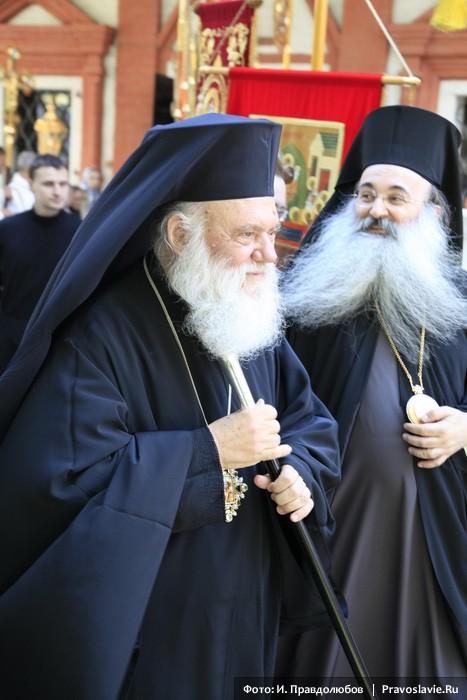 Блаженнейший Архиепископ Афинский и всей Эллады Иероним