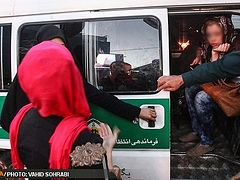 Dealing with improperly veiled women intensified in Tehran
