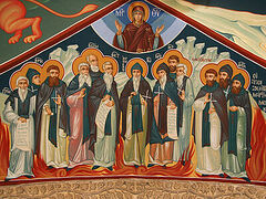 Тринадцать преподобномучеников из Кантарского монастыря