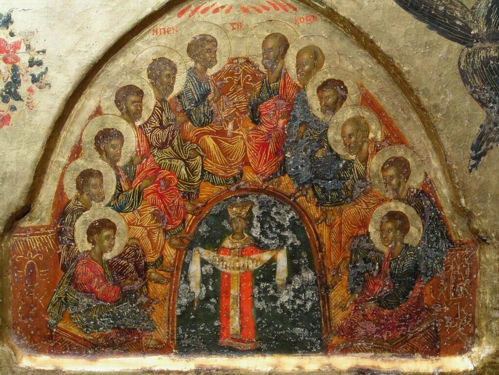 Пятидесятница. Кипрская икона