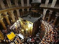 After Hours, Private Masses Are Held by Clergy at Holy Sepulcher in Jerusalem