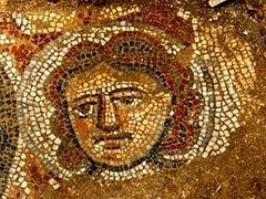 Image of Bible's Samson Discovered at Ancient Synagogue