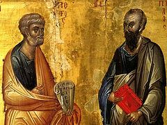 The Chief Apostles. Three Lessons from two Apostles