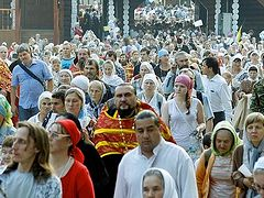 Over 40,000 gather in Ekaterinburg to honor the Royal Martyrs