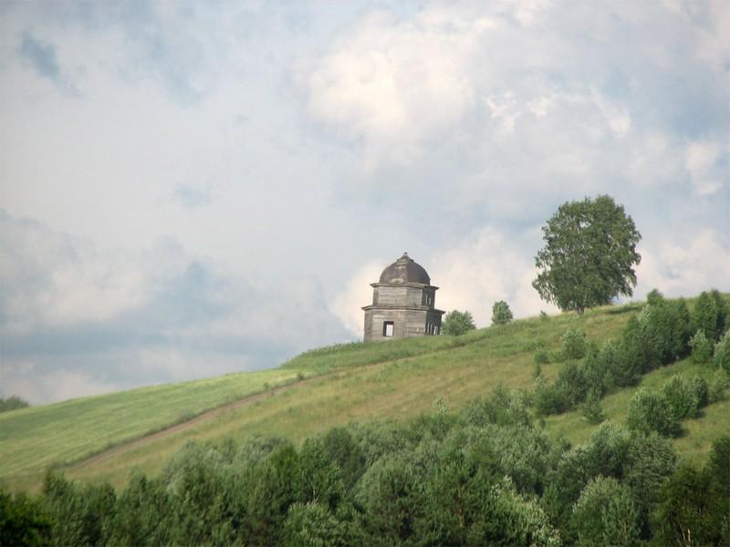 Деревня Федьково (Ширканда). Часовня мучеников Кирика и Иулитты (1848 г.) до консервационных работ
