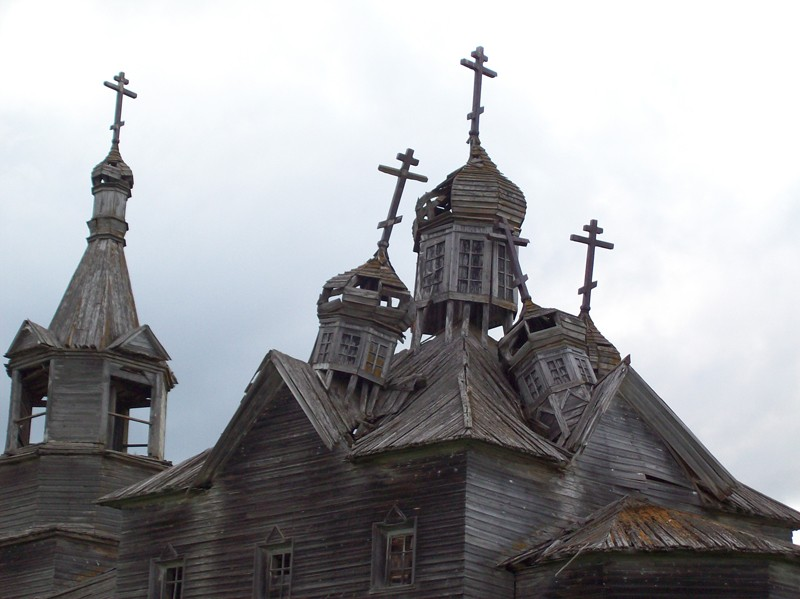 Деревня Чикинская. Храм Богоявления Господня