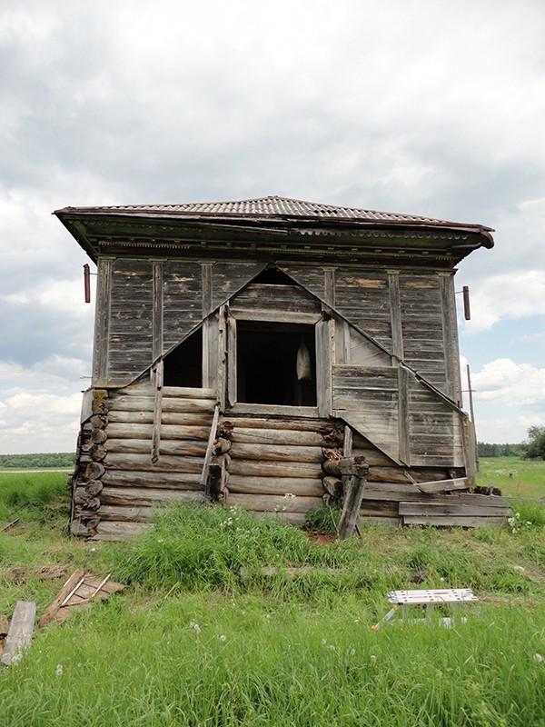 Деревня Болкачевская (Усть-Пуя). Храм Рождества Пресвятой Богородицы (1794-1795 гг.)