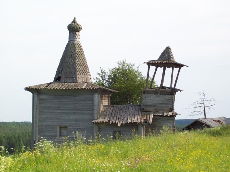 Деревня Шотогорка. Часовня великомученика. Георгия Победоносца (XVIII в.)